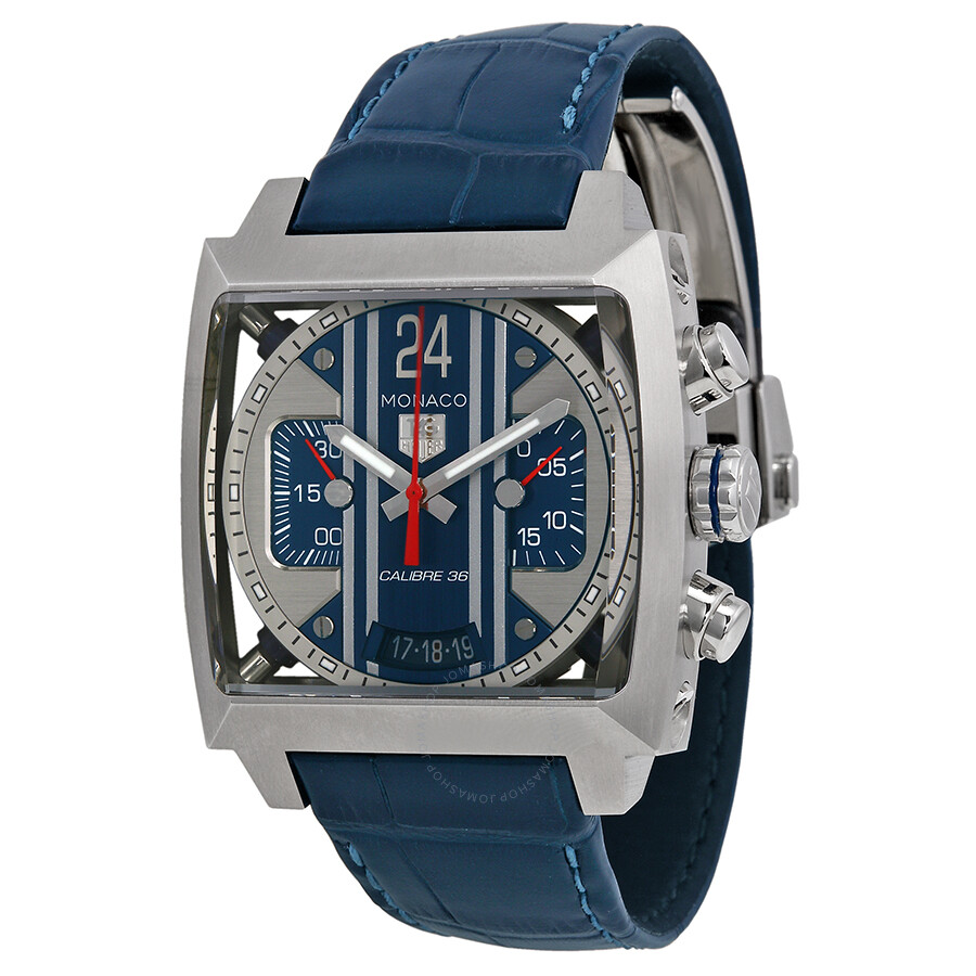 tag heuer monaco 24 steve mcqueen chronograph automatic men 39 s watch cal5111 fc6299 monaco. Black Bedroom Furniture Sets. Home Design Ideas