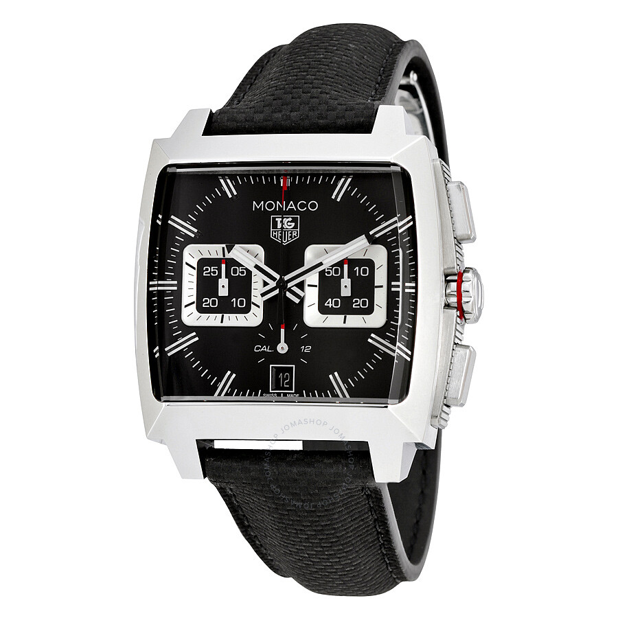tag heuer monaco black opalin dial automatic men 39 s chronograph watch cal2113 fc6536 monaco. Black Bedroom Furniture Sets. Home Design Ideas