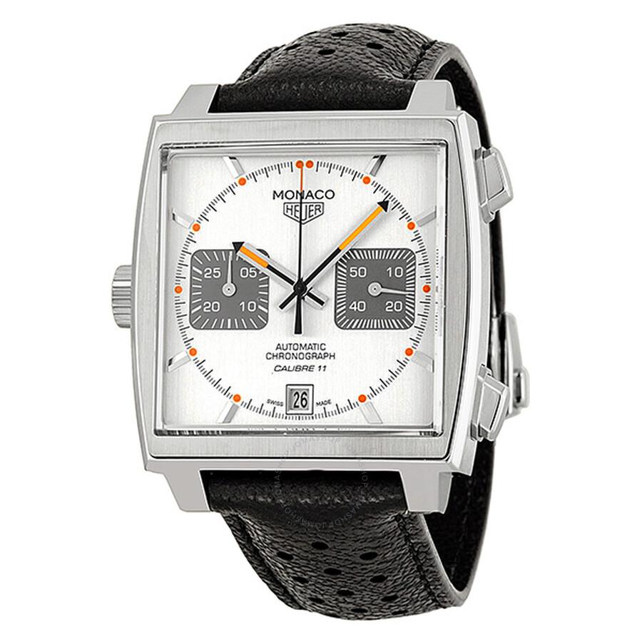 2e33b6a57ff63 TAG Heuer Monaco Automatic Chronograph Men s Watch CAW211C.FC6241 ...