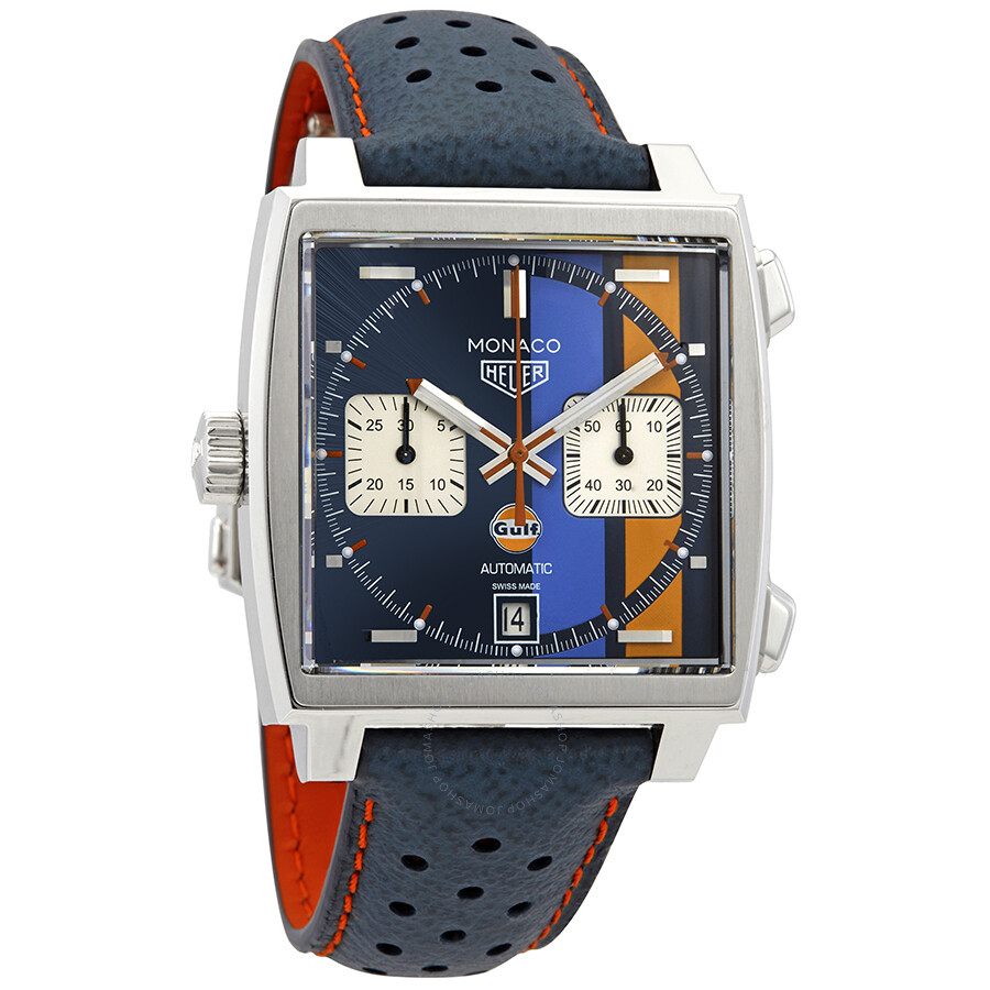 tag heuer monaco gulf 2018 chronograph automatic men 39 s. Black Bedroom Furniture Sets. Home Design Ideas