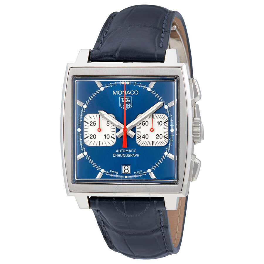 tag heuer monaco steve mcqueen chronograph men 39 s watch. Black Bedroom Furniture Sets. Home Design Ideas