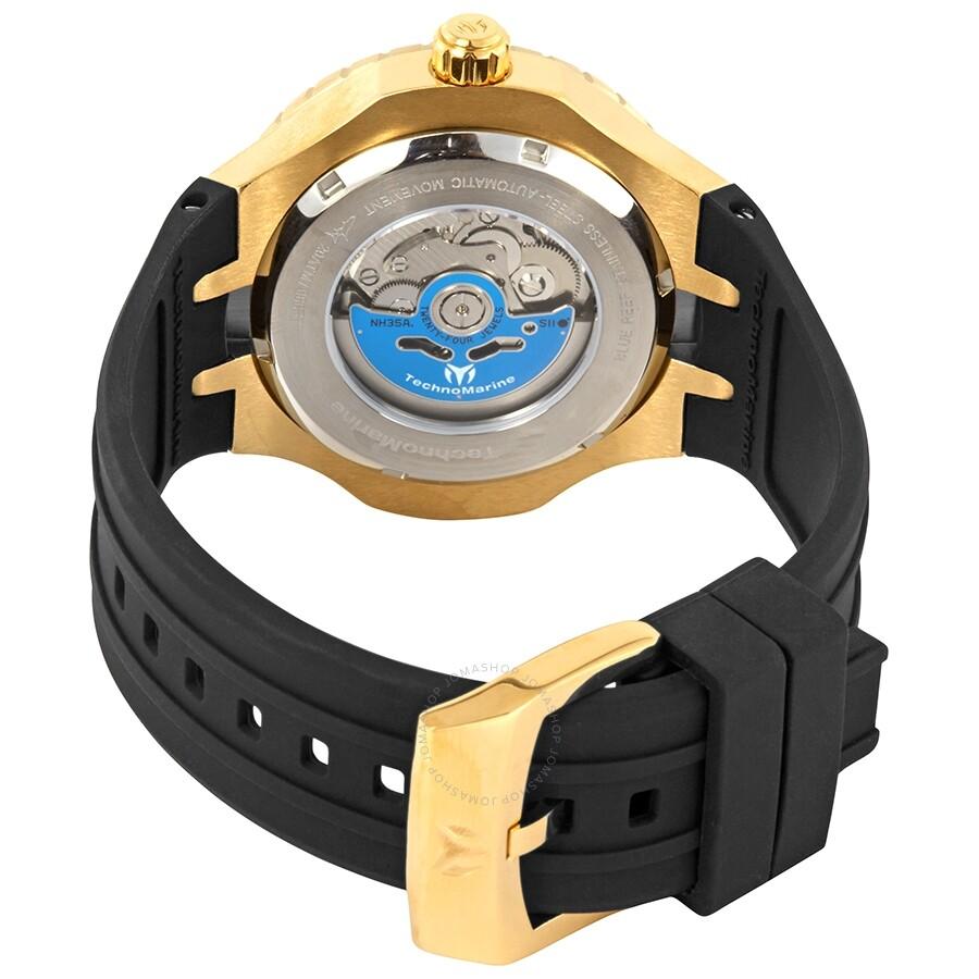 Technomarine Grand Cruise Automatic Gold Dial Men's Watch TM ...