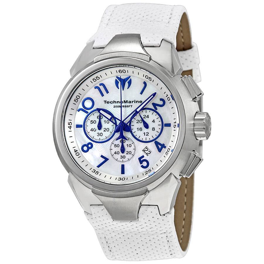 Technomarine Sea Pearl Chronograph Men S Watch 715021