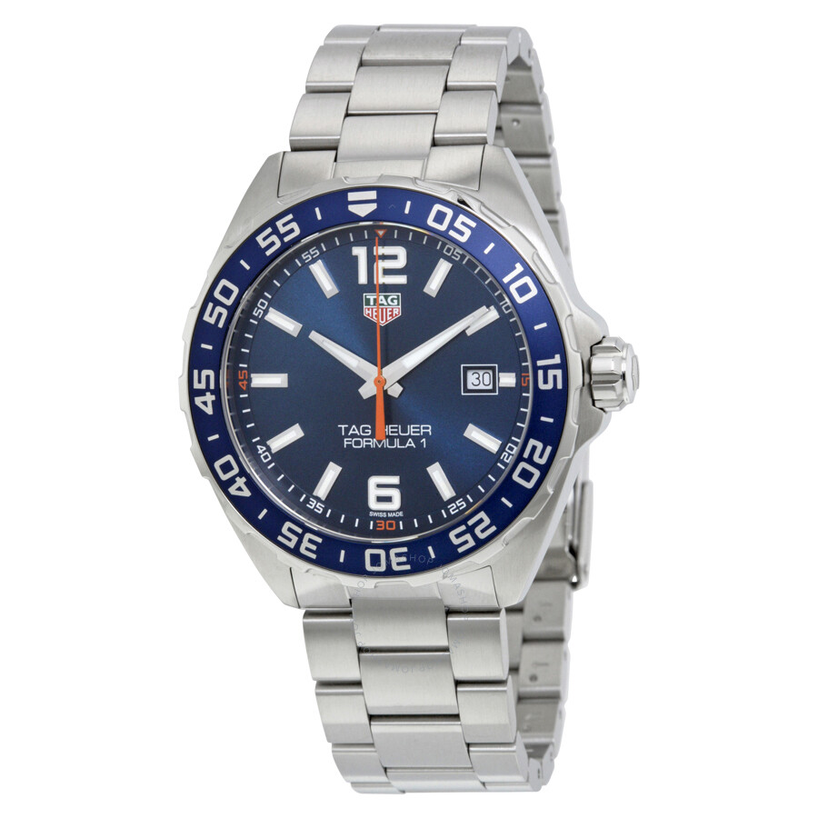 tag heuer formula 1 blue dial men 39 s watch waz1010 ba0842. Black Bedroom Furniture Sets. Home Design Ideas