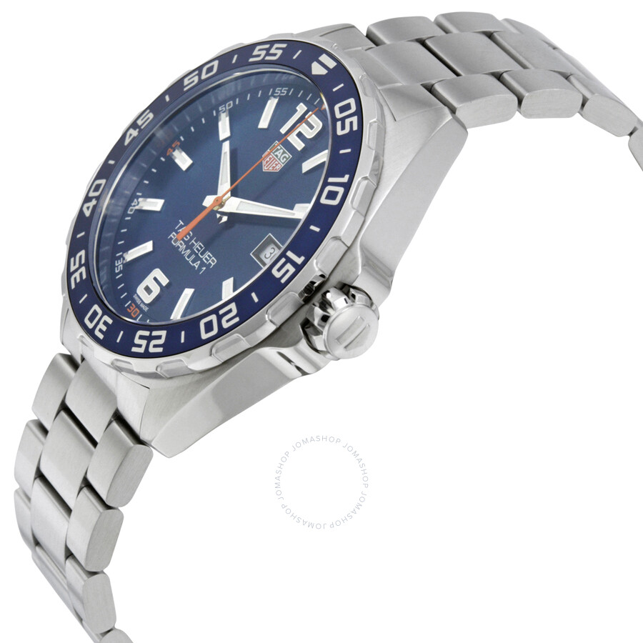 a2bd7b9a0052 Tag Heuer Formula 1 Blue Dial Men s Watch WAZ1010.BA0842 - Formula 1 ...