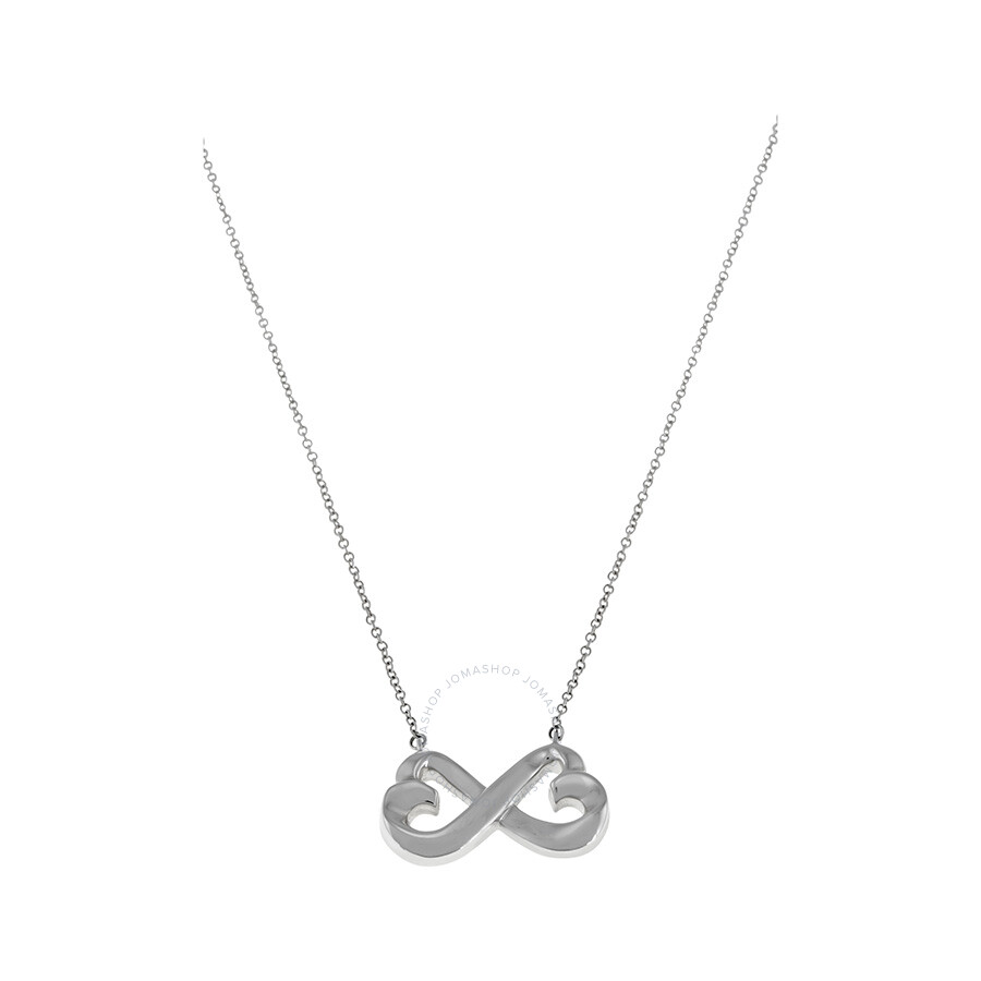 Tiffany Co Double Heart Pendant