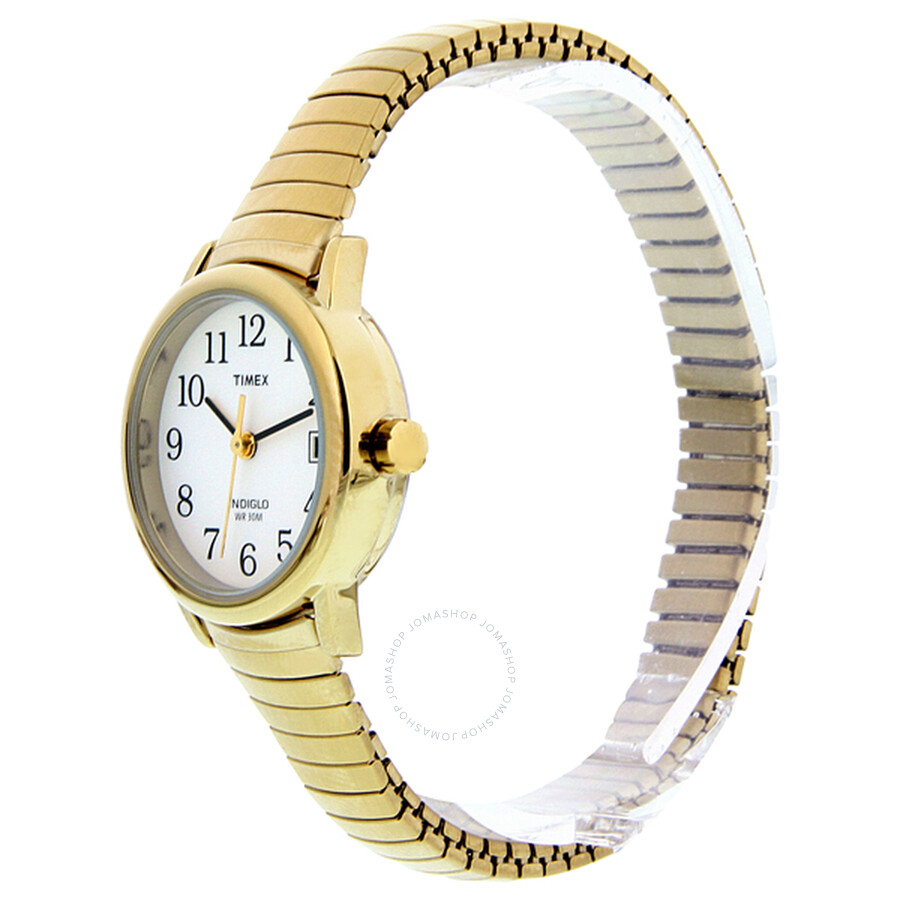 Timex Easy Reader Gold-tone Stainless Steel Ladies Watch T2H351 ... 5df138f7810