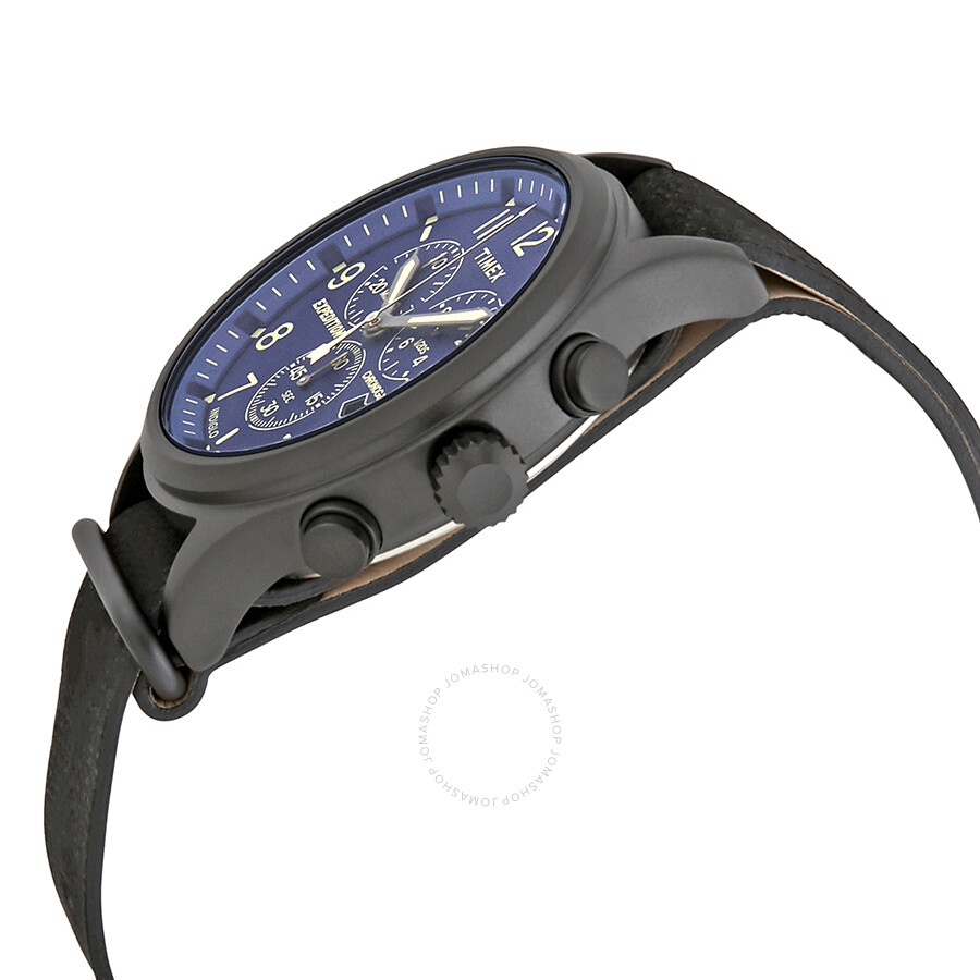 e27bd375f156 ... Timex Expedition Scout Chronograph Blue Dial Men s Watch TW4B04200 ...