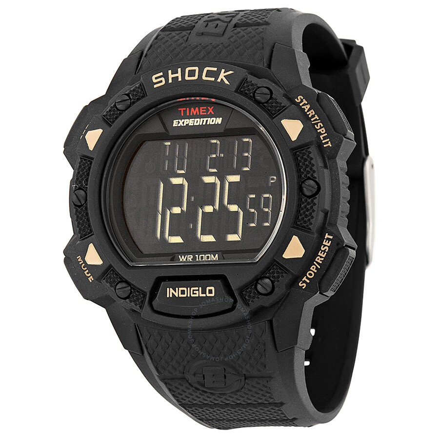 Timex Expedition Digital Chronograph Men's Watch T49980 ... |Timex Expedition Digital Watches Men