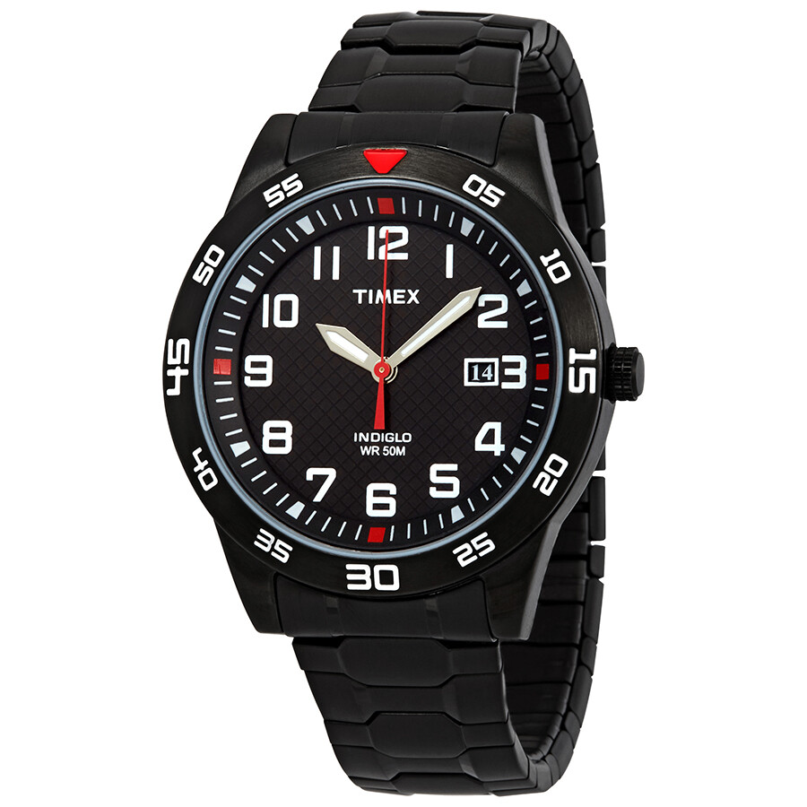 22bc734c693e Timex Fieldstone Black Dial Men s Watch TW2P61600 - Timex - Watches ...