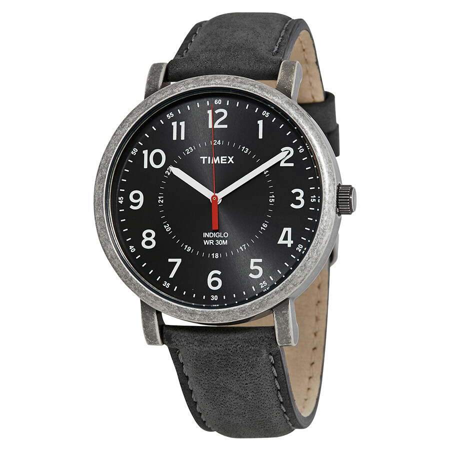 timex indiglo originals black s t2p219