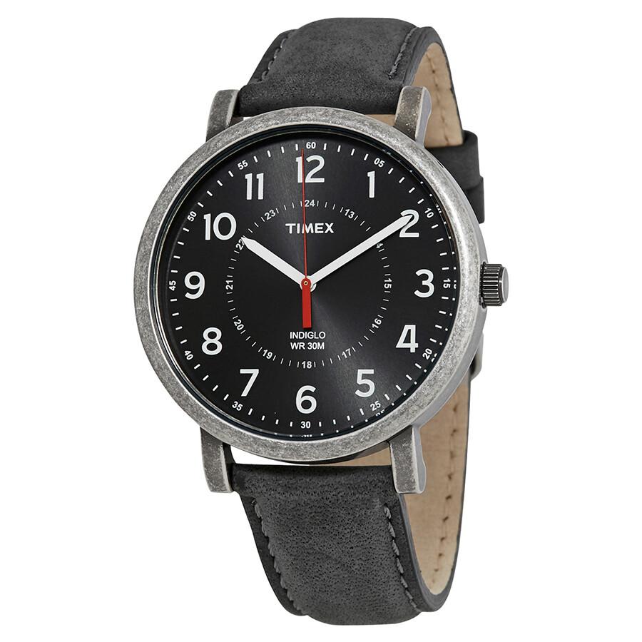 Timex indiglo originals black dial men 39 s watch t2p219 timex watches jomashop for Indiglo watches