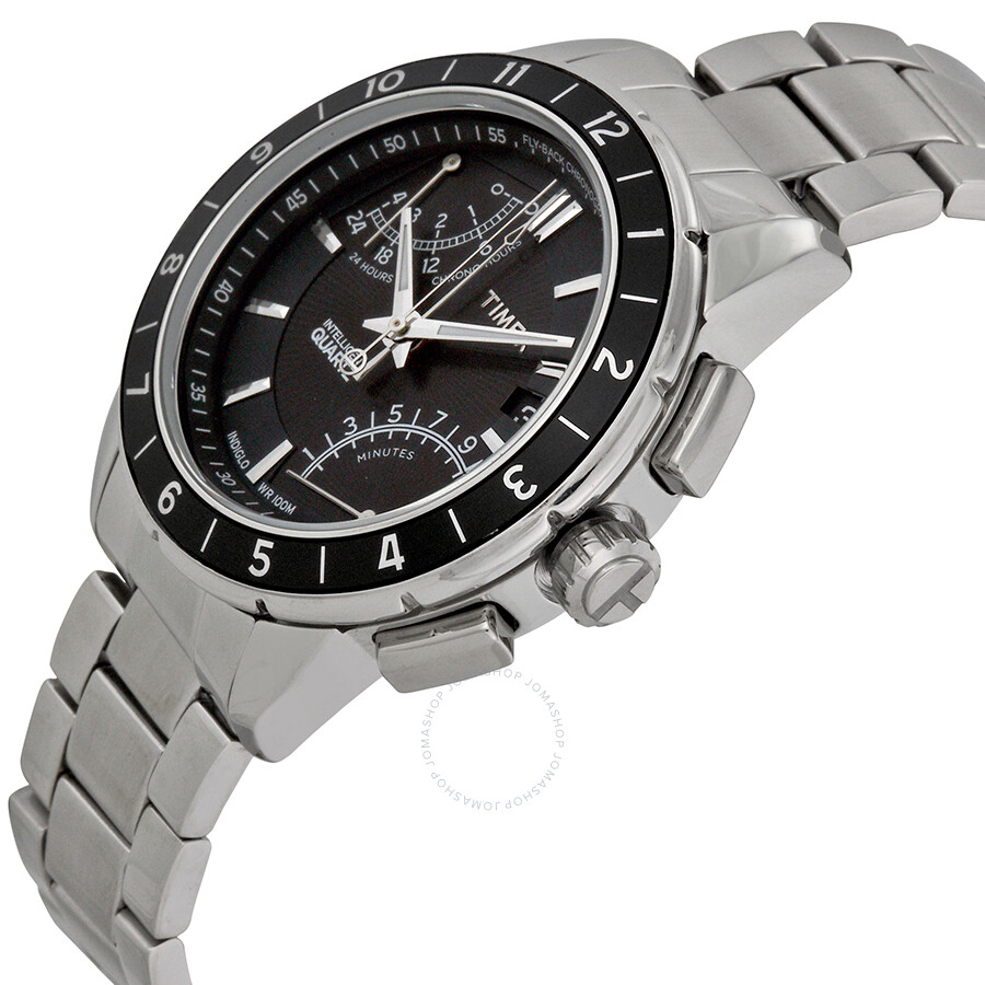 db1dea532 ... Timex Intelligent Quartz SL Flyback Chronograph Men's Watch T2N498 ...