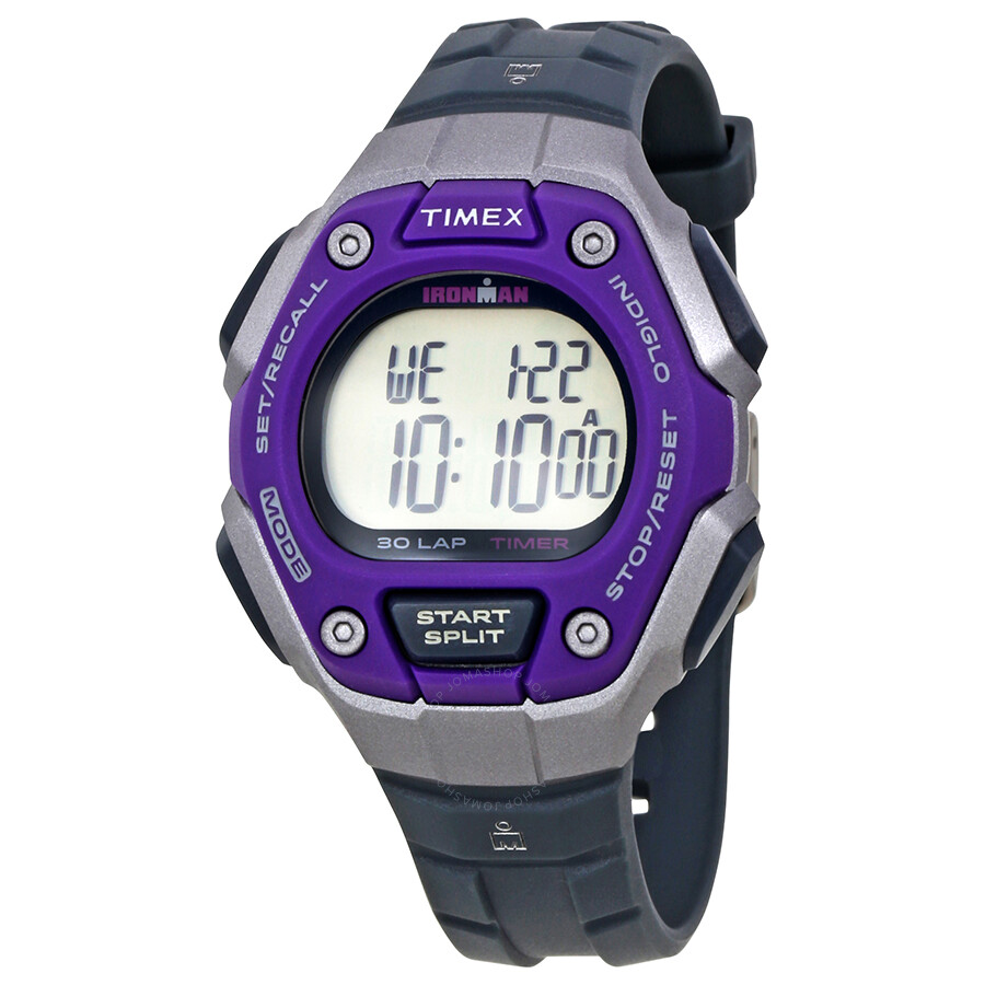 how to reset timex ironman watch