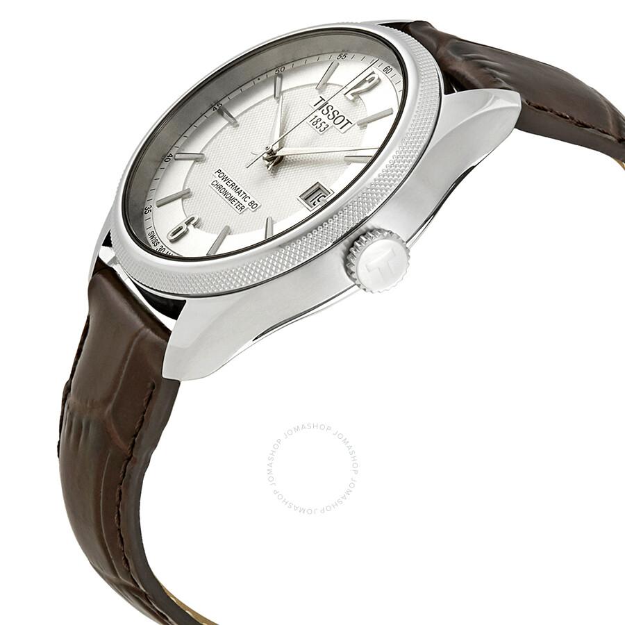 5b468f8064b ... Tissot Ballade Automatic Chronometer Silver Dial Men s Watch  T108.408.16.037.00 ...