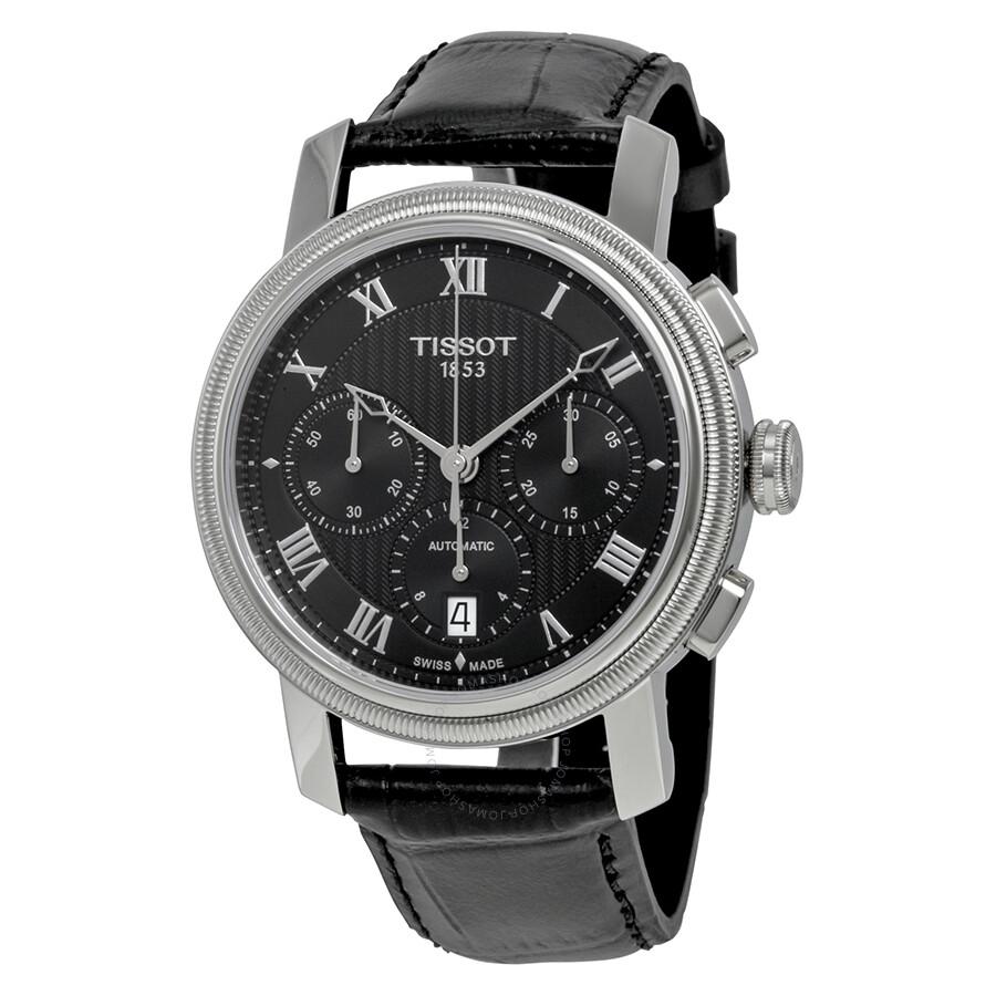 b5067d1b3 Tissot Bridgeport Automatic Chronograph Black Dial Men's Watch  T097.427.16.053.00 ...