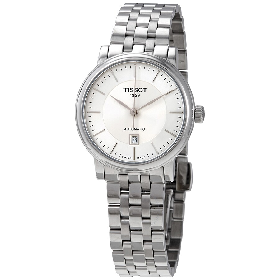 Carson Automatic Silver Dial Ladies Watch T122.207.11.031.00
