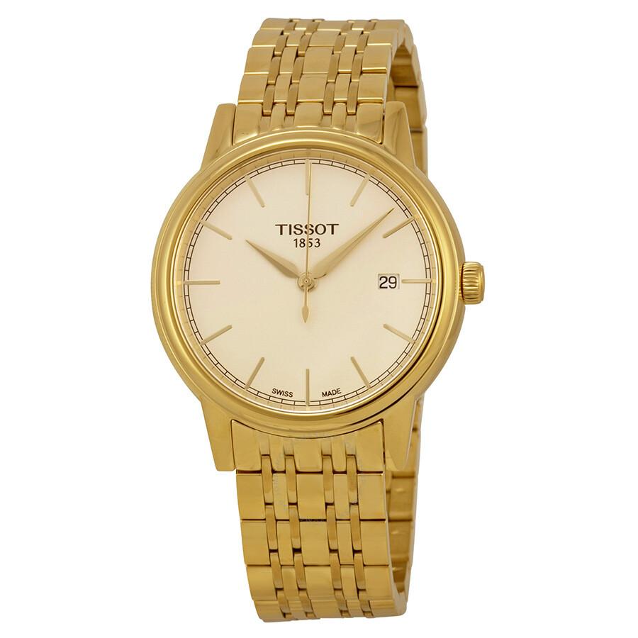 tissot gold