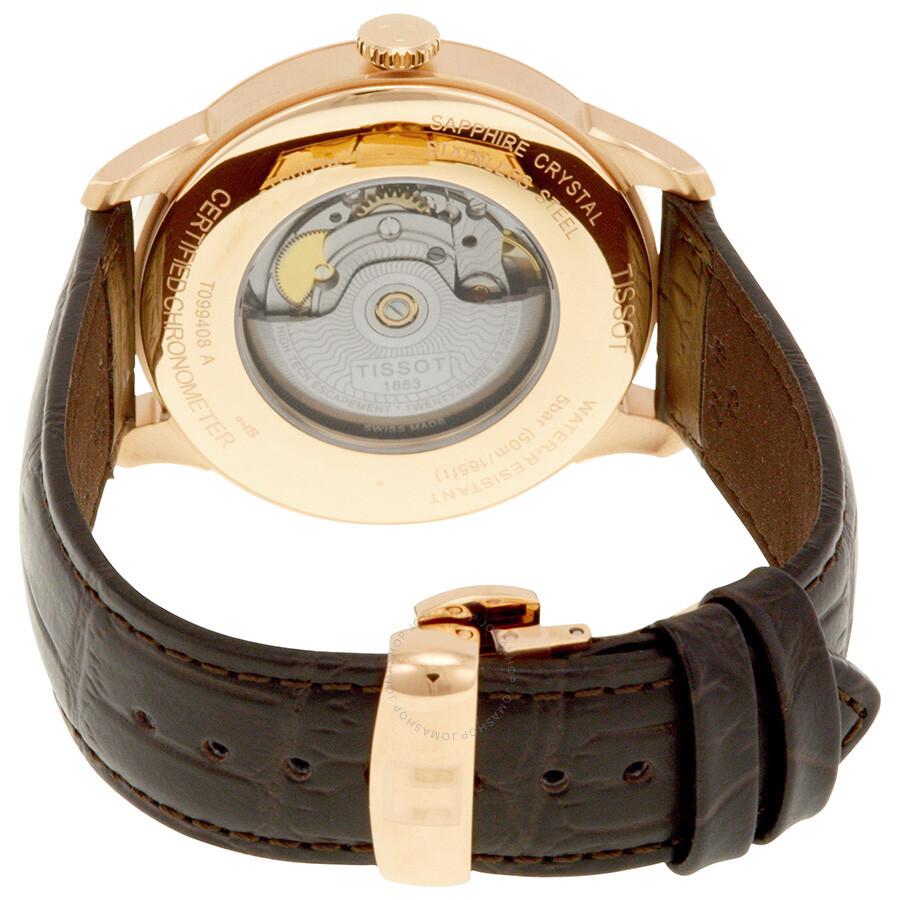aa196a5adec Tissot Chemin Des Tourelles Automatic Men s Watch T099.408.36.038.00 ...