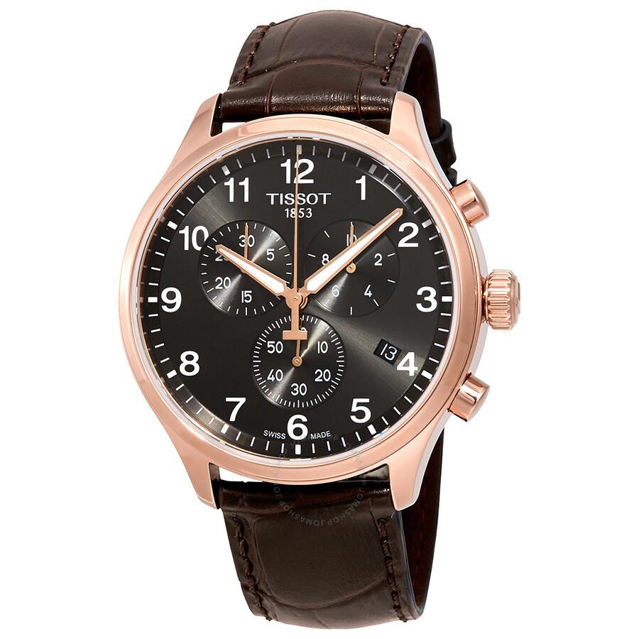 479b2ac94 Tissot Chrono Classic XL Chronograph Black Dial Men's Watch  T116.617.36.057.01 ...