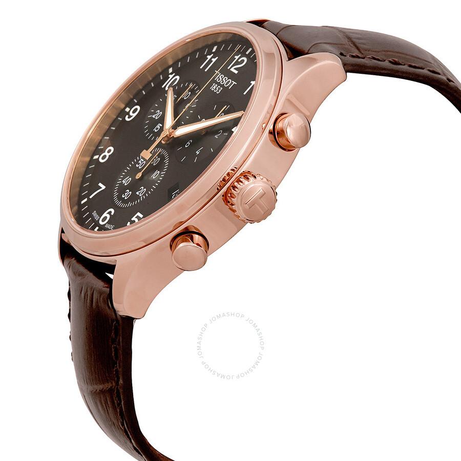 2e0698820 ... Tissot Chrono Classic XL Chronograph Black Dial Men's Watch  T116.617.36.057.01 ...