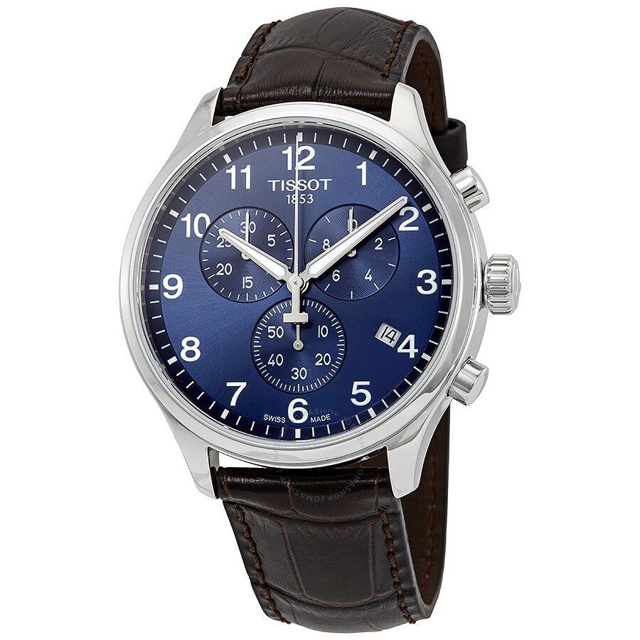 Tissot Chrono Xl Chronograph Blue Dial Men S Watch T116 617 16 047 00
