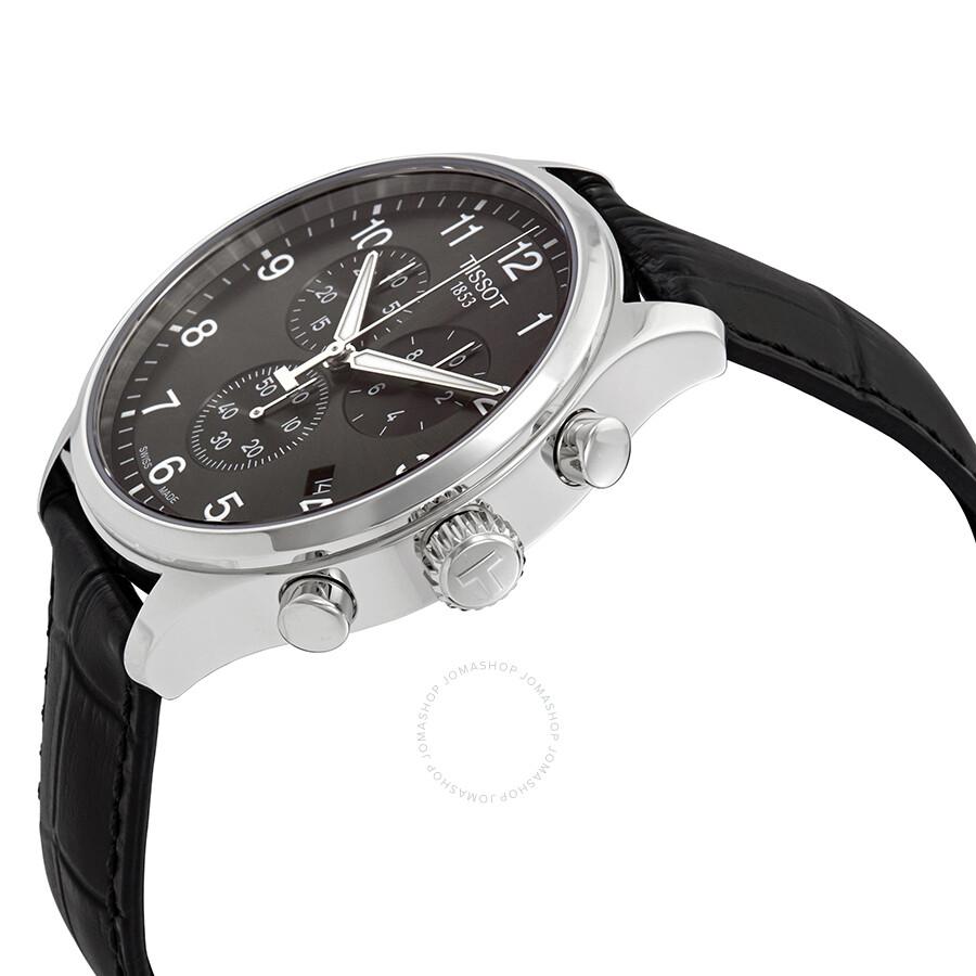 2394ddfb098 ... Tissot Chrono XL Classic Chronograph Black Dial Men's Watch  T116.617.16.057.00 ...