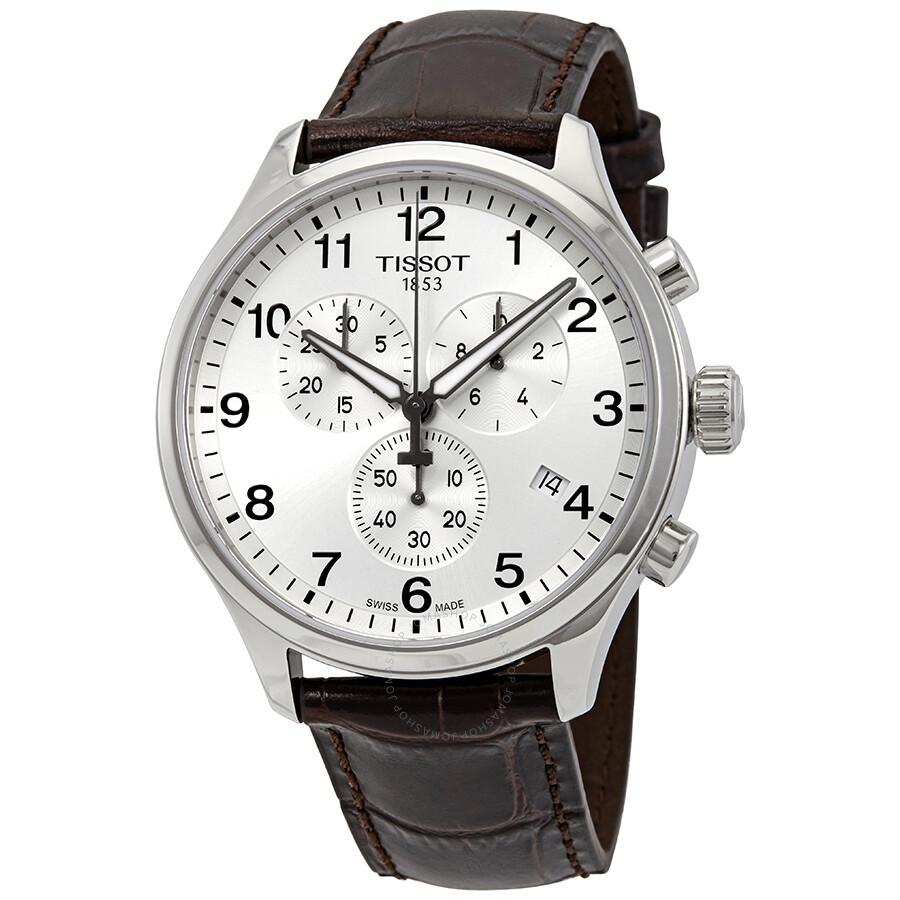 4532336d70b Tissot Chrono XL Classic Chronograph Silver Dial Men's Watch  T116.617.16.037.00 ...