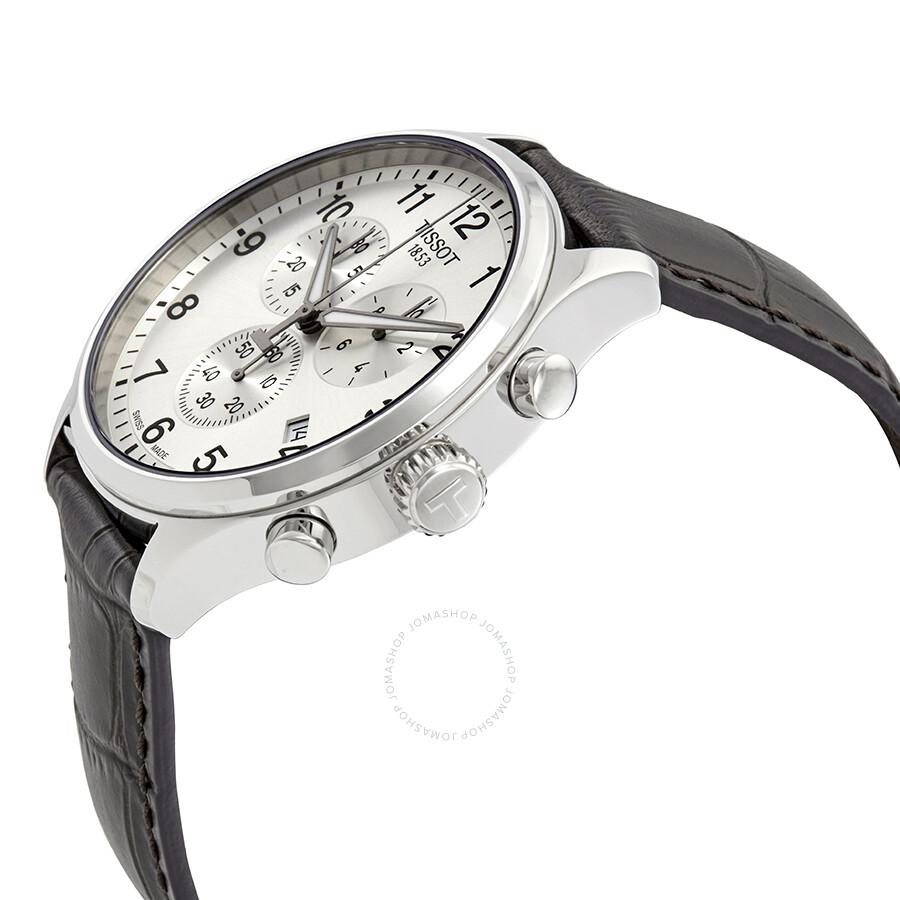 c1e8115637c ... Tissot Chrono XL Classic Chronograph Silver Dial Men's Watch  T116.617.16.037.00 ...