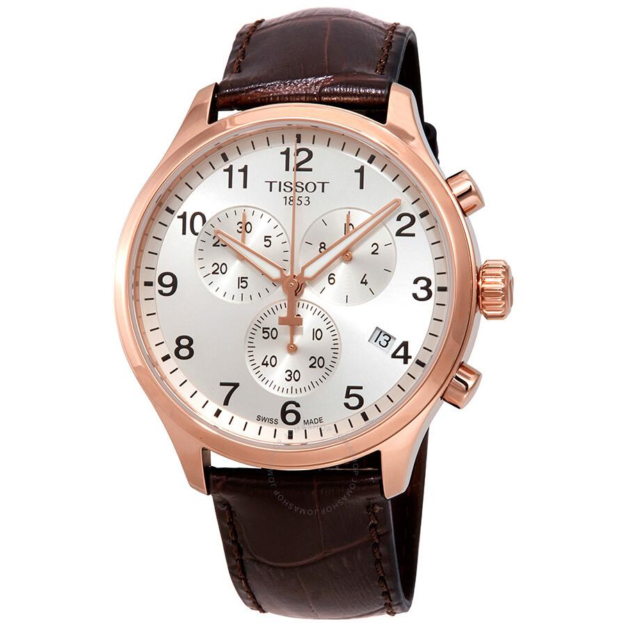 340b88540 Tissot Chrono XL Chronograph Silver Dial Men's Watch T116.617.36.037.00 ...