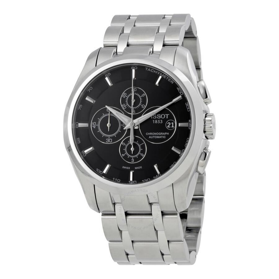 dbc4ed1c5ec1 Tissot Couturier Automatic Black Dial Men s Watch T035.627.11.051.00 ...