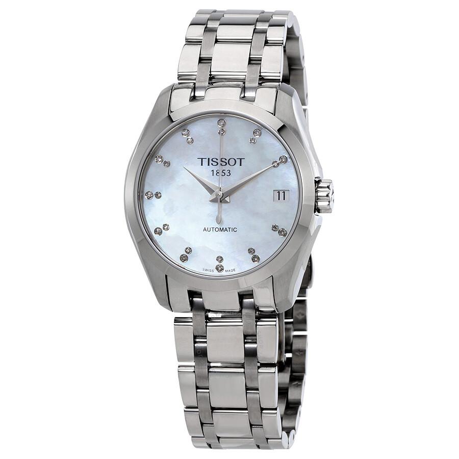 Tissot Couturier Automatic Ladies Watch T035.207.11.116.00 ... 814e88524