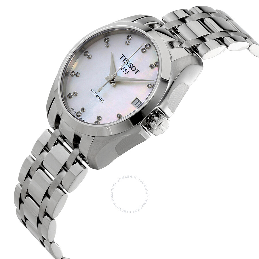 11 00 Tissot 207 T035 Automatic 116 Couturier Ladies Watch IEYHebWD29