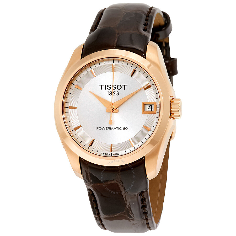 Tissot Couturier Automatic Ladies Watch T0352073603100 - Couturier ... f6b3313482f