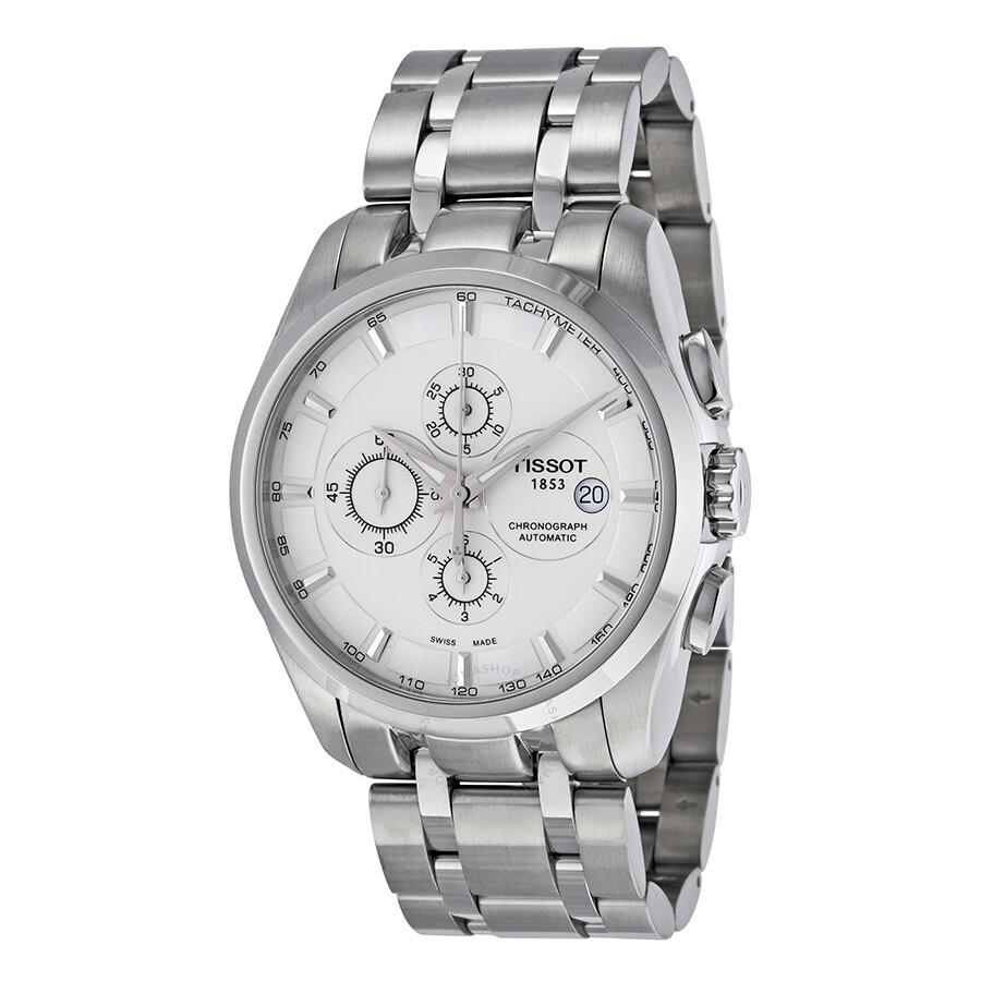 détaillant en ligne 0f6fe b66bc Tissot Couturier Chronograph Automatic Men's Watch T0356271103100
