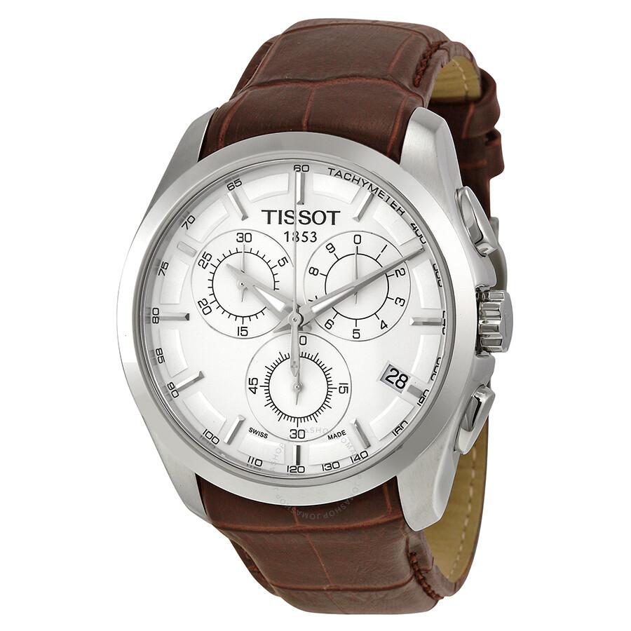 Tissot Couturier Silver Dial Chronograph Men S Watch T0356171603100 Couturier T Classic