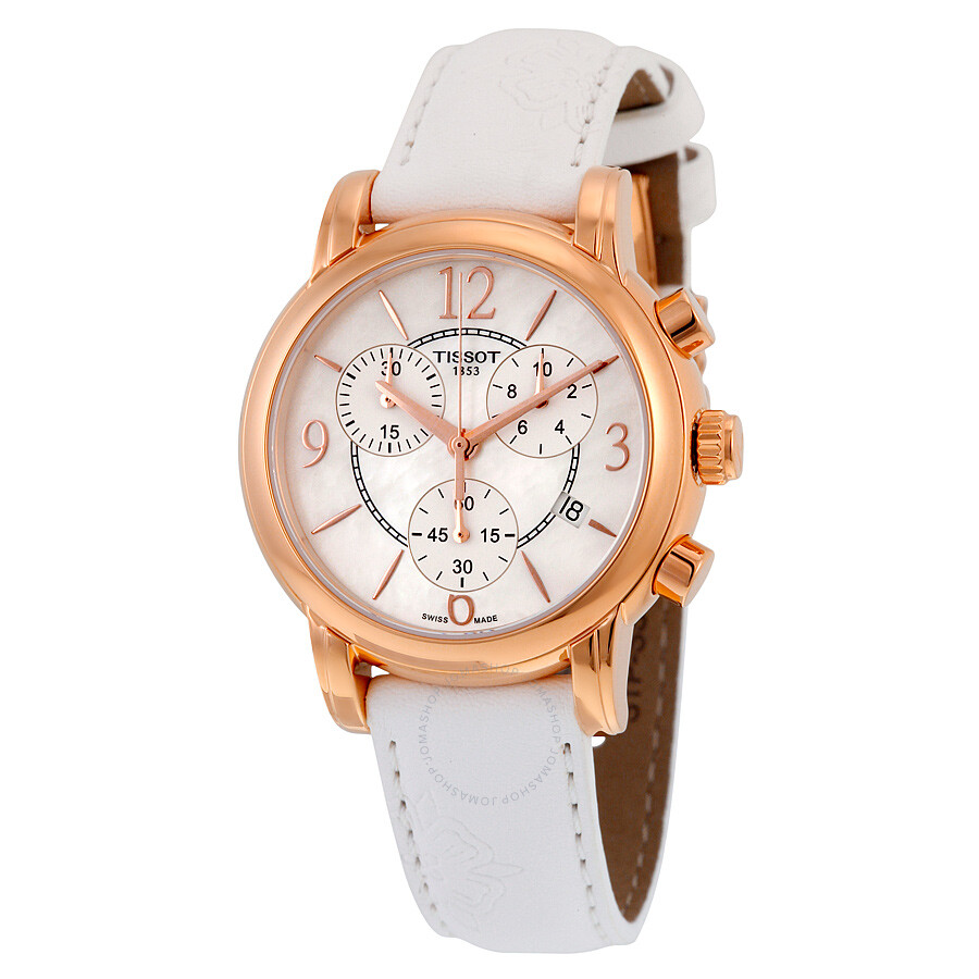 Tissot dressport mother of pearl dial ladies watch t0502173711700 dressport t classic for Mother of pearl dial watch