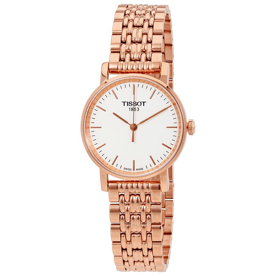 Tissot Everytime Small White Dial Ladies Watch T1092103303100 Item No.  T109.210.33.031.00 ecc5329047
