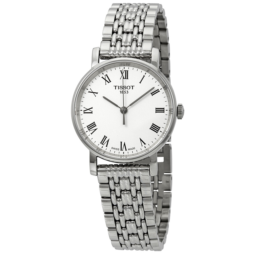 a3e3a54a309 Tissot Everytime Small White Dial Ladies Watch T109.210.11.033.00 ...