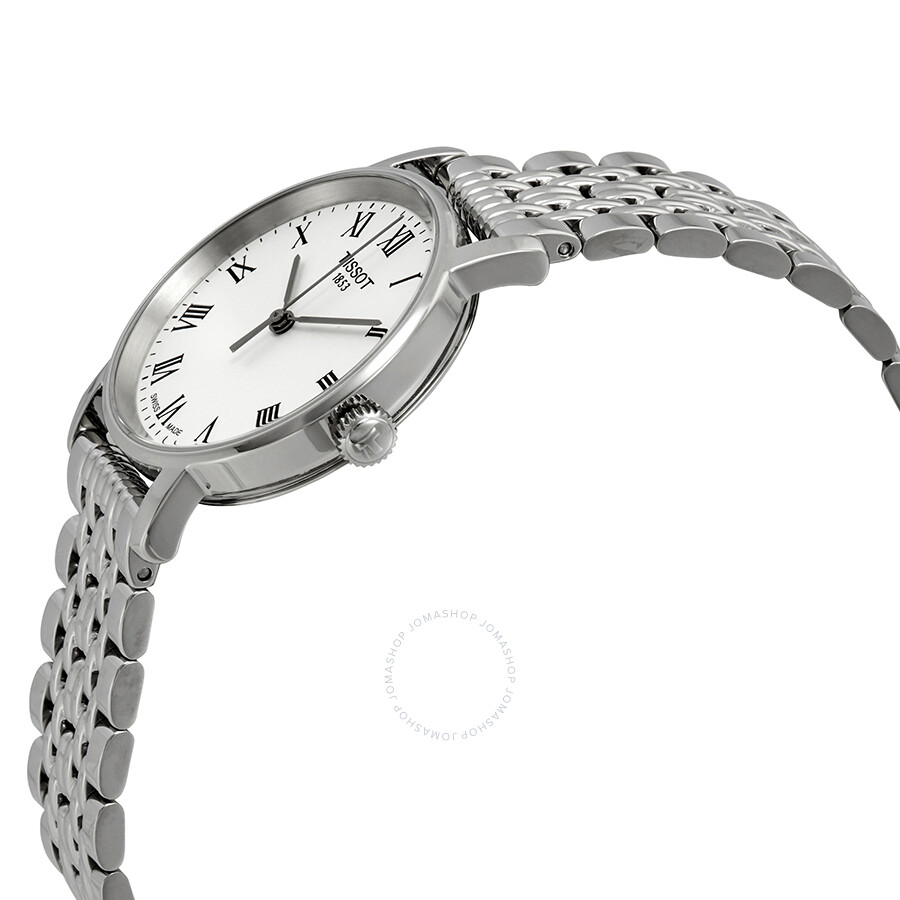 Everytime Small White Dial Ladies Watch T109.210.11.033.00