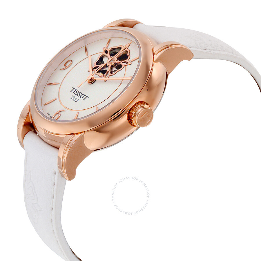 Lady Heart Powermatic 80 Mother of Pearl Dial Ladies Watch T0502073701704