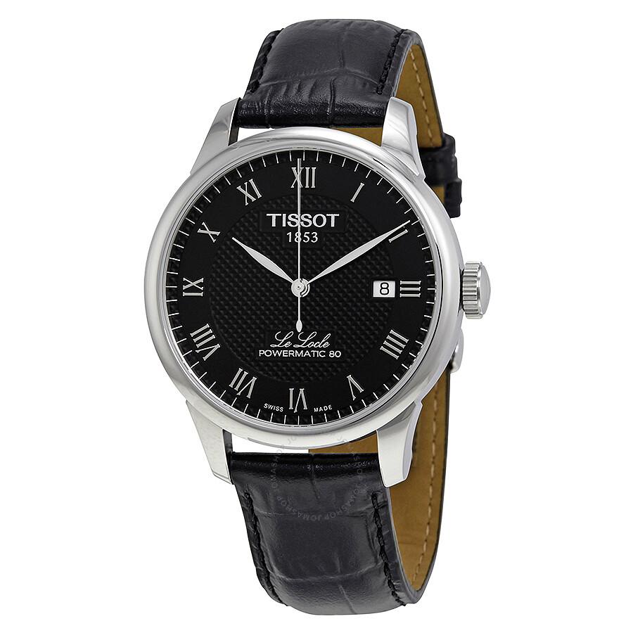 82d128468 Tissot Le Locle Powermatic 80 Automatic Men's Watch T006.407.16.053.00 ...
