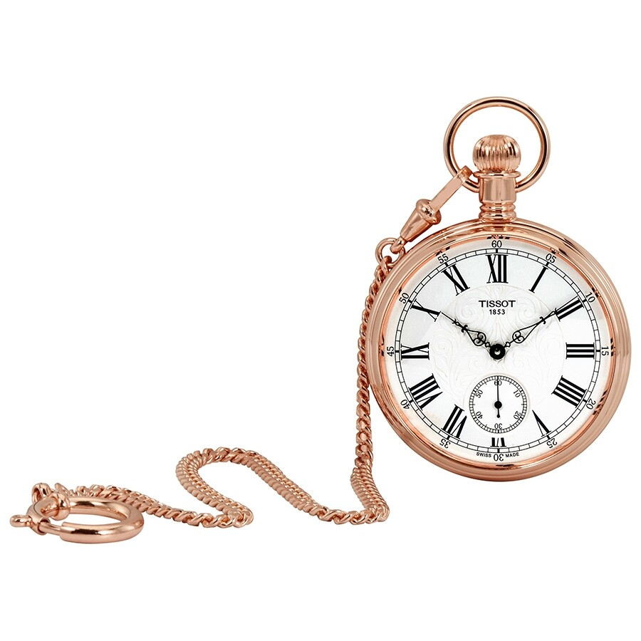 1a6a9520604 tissot lepine rose gold tone pocket watch t t pocket tissot lepine rose gold  tone pocket watch. Pocket Watch Vintage R Numerals Quartz ...