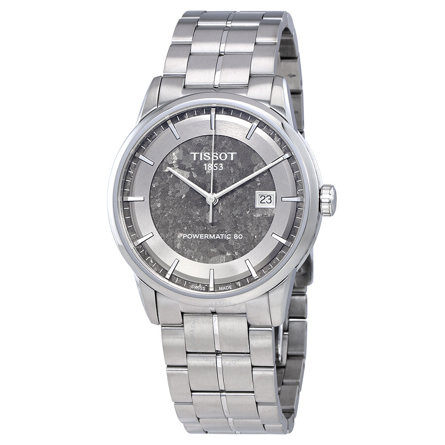 Tissot Luxury Powermatic 80 Anthracite Dial Men's Watch T086.407.11.061.10