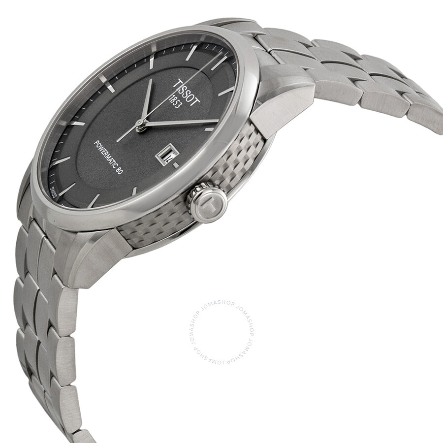 588221d66f2 ... Tissot Luxury Automatic Anthracite Dial Stainless Steel Men's Watch  T0864071106100 ...