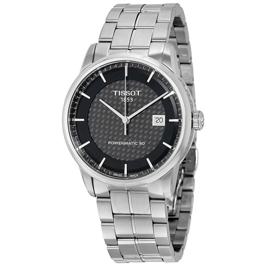 Tissot Luxury Powermatic 80 Black Men's Watch T086.407.11.201.02