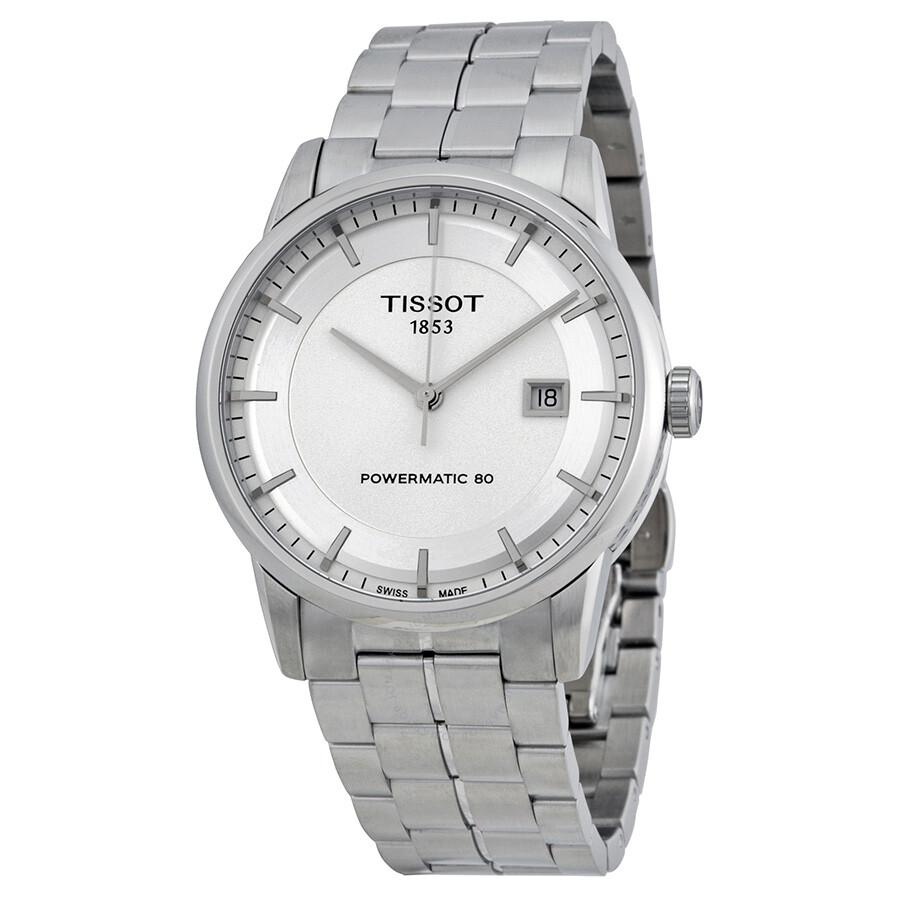 Luxury Powermatic 80 Silver Dial Men's Watch T0864071103100