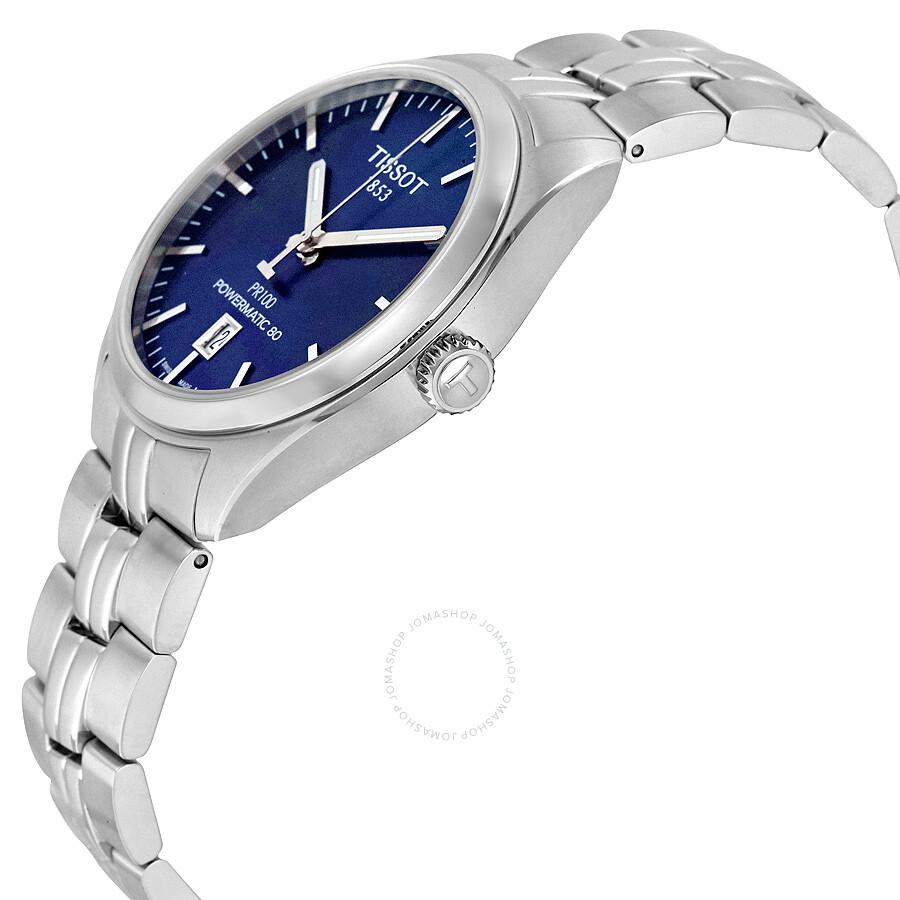 Tissot Pr 100 Automatic Blue Dial Men S Watch T101 407 11 041 00