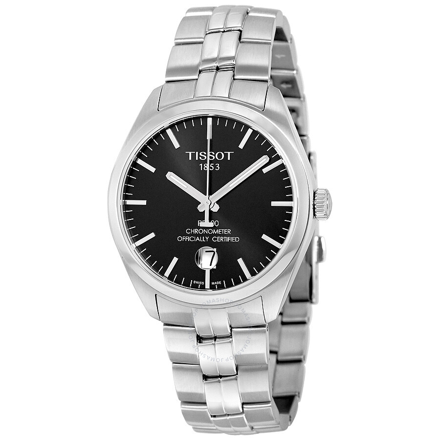 Tissot PR 100 Automatic Black Dial Men's Watch
