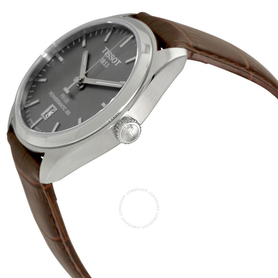 Tissot Pr 100 Automatic Rhodium Dial Men S Watch T101 407 16 071 00